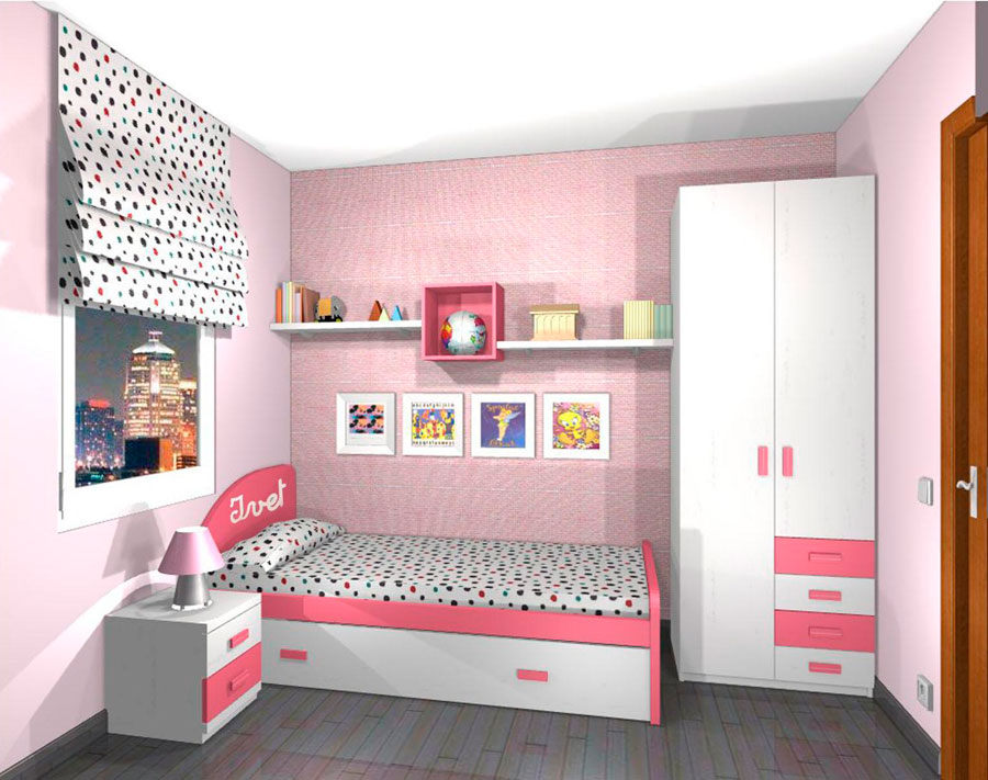 Muebles Súper Barcelona  Proyectos Dormitorios Juveniles