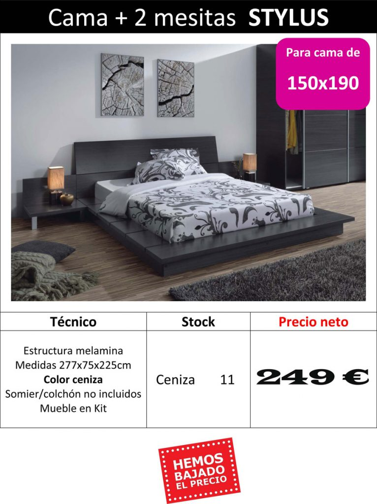 Muebles_Super_Barcelona_Outlet_Cama_1