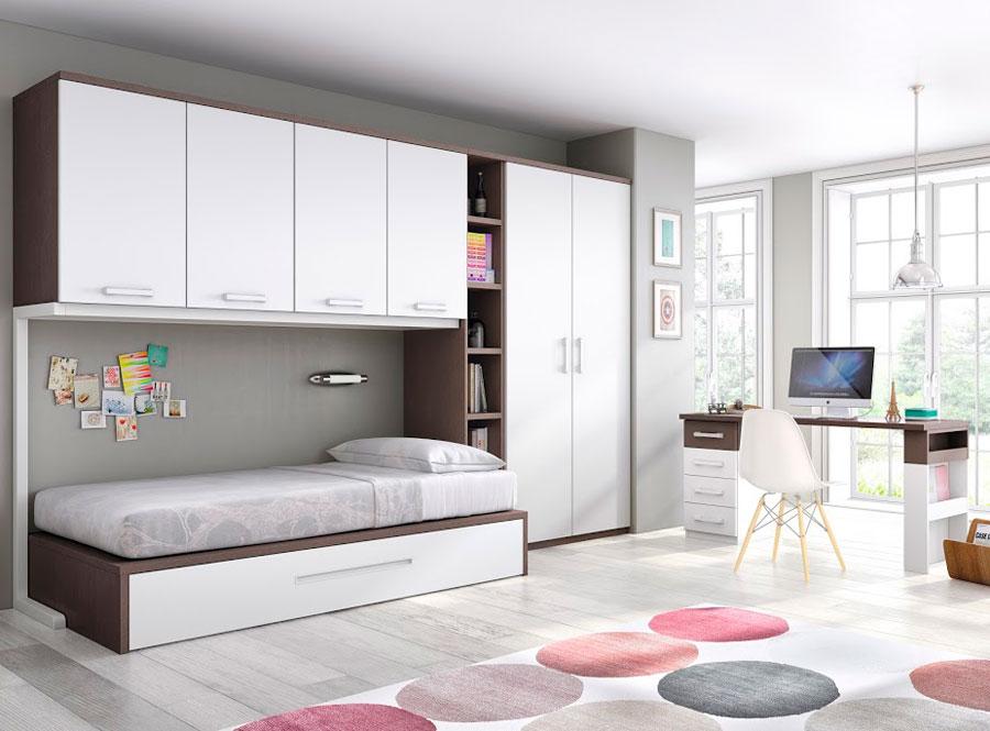 Dormitorios juveniles barcelona free litera a medida for Muebles juveniles baratos barcelona