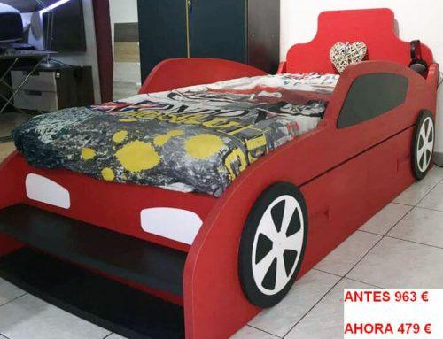 Liquidación coche-cama de niño. Antes 963€, Ahora 479€