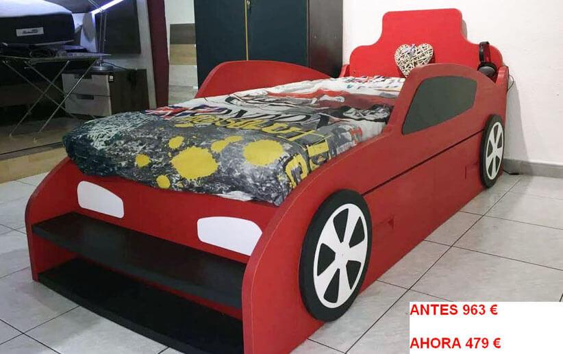 Liquidaci n coche cama de ni o antes 963 ahora 479 - Liquidacion muebles barcelona ...