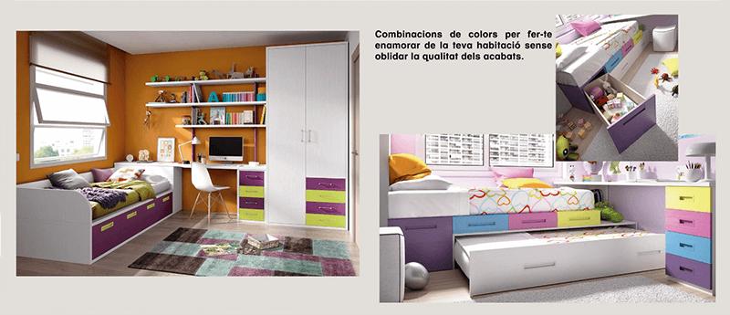 Nuevo cat logo muebles s per infantil y juvenil muebles for Muebles infantiles barcelona