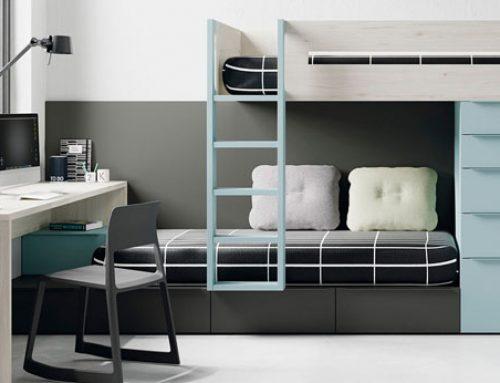 Dormitorios juveniles… Amplíale el nido a tus NO tan niños